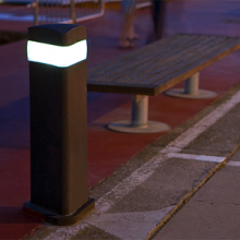 FINISTERRE - Bollard with Light