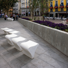 IOLA - Bench  by santa-cole