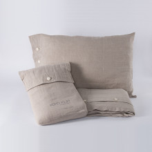Natural - 100% Linen Bedding Collection - Koko Klim