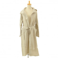 BO - Linen Bathrobe with Hood