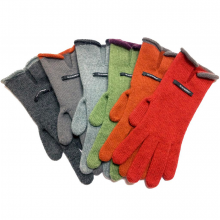 Paris Short Cashmere Gloves Brigth Colours - Teixidors