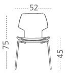 Gracia Chair - M114