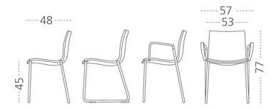 Gimlet Chair - M114